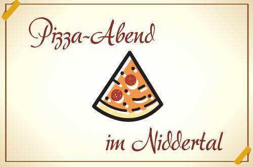 Es gibt wieder Pizza